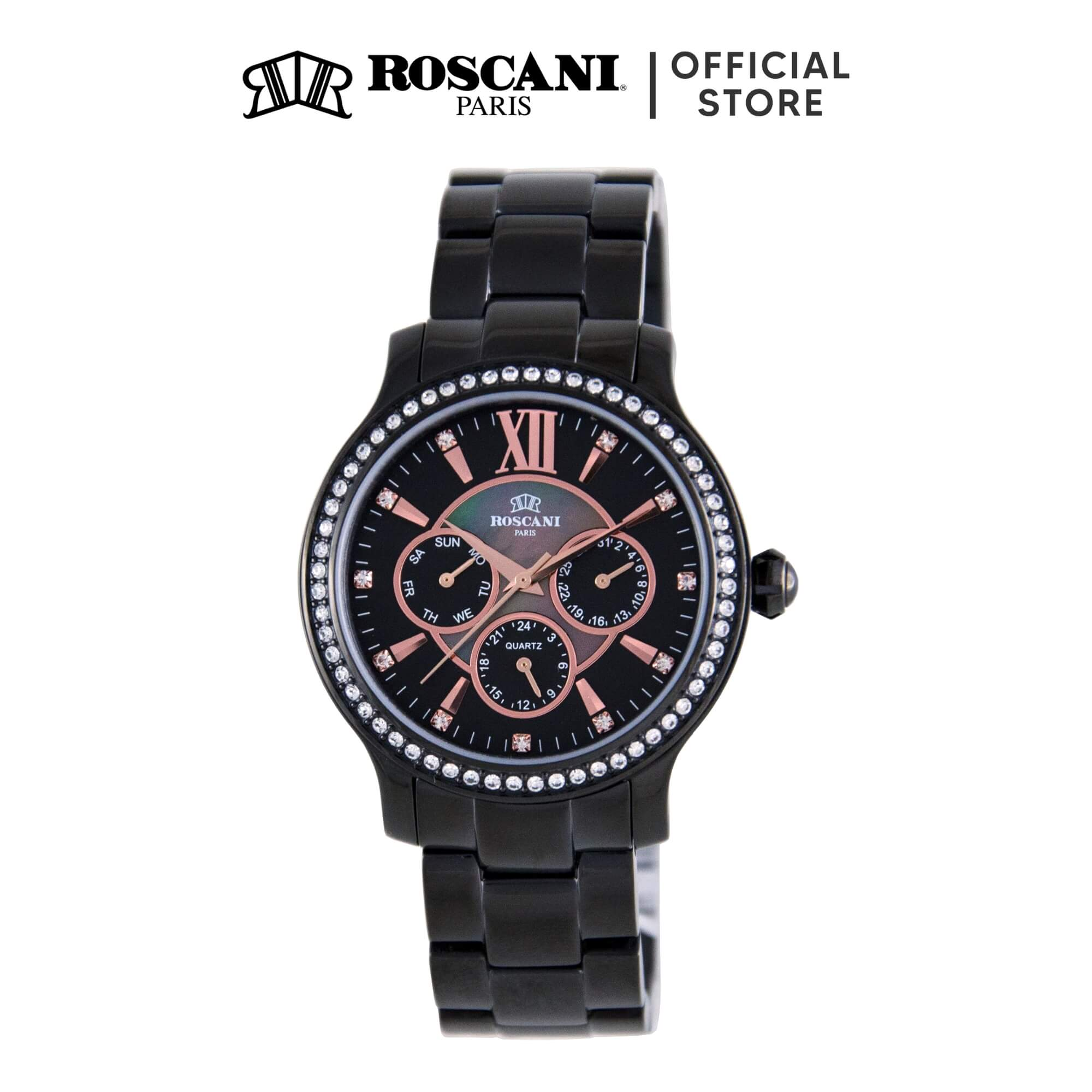 Roscani Hope 910 (Multifunction + WR 5ATM) Bracelet Women Watch