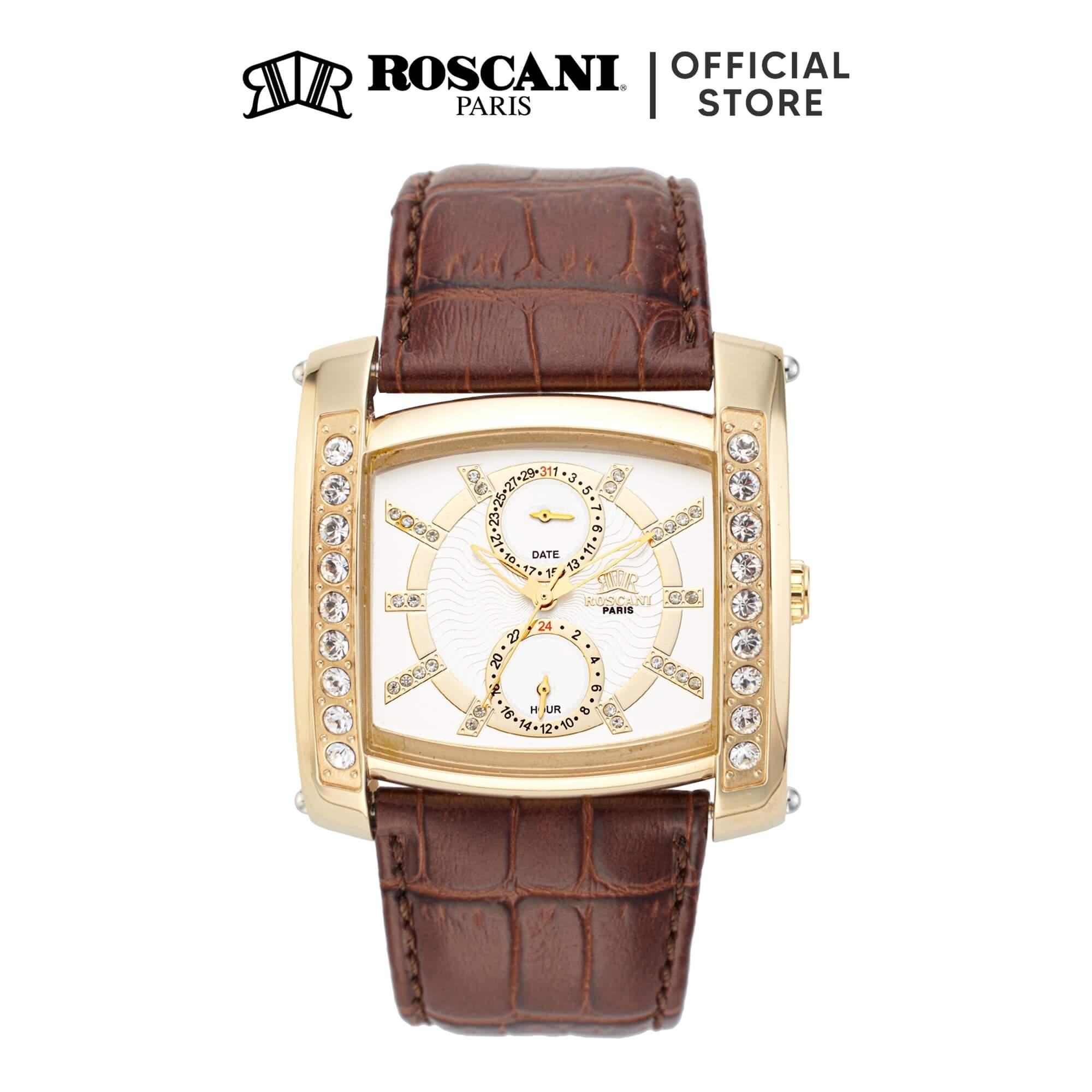 Roscani Wyatt 929 (Multifunction) Leather Men Watch