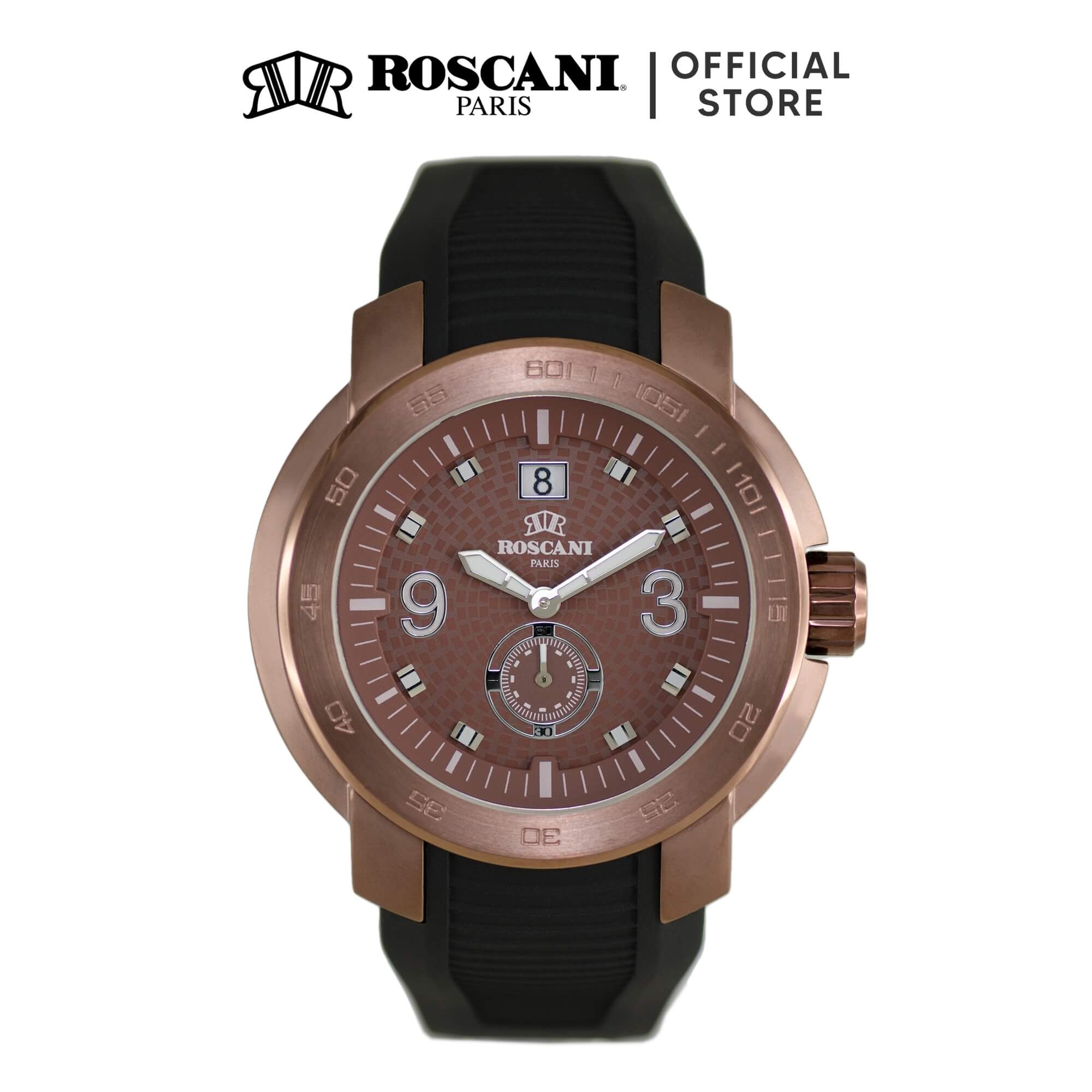 Roscani Pedro 969 (WR 5ATM) Silicone Men Watch