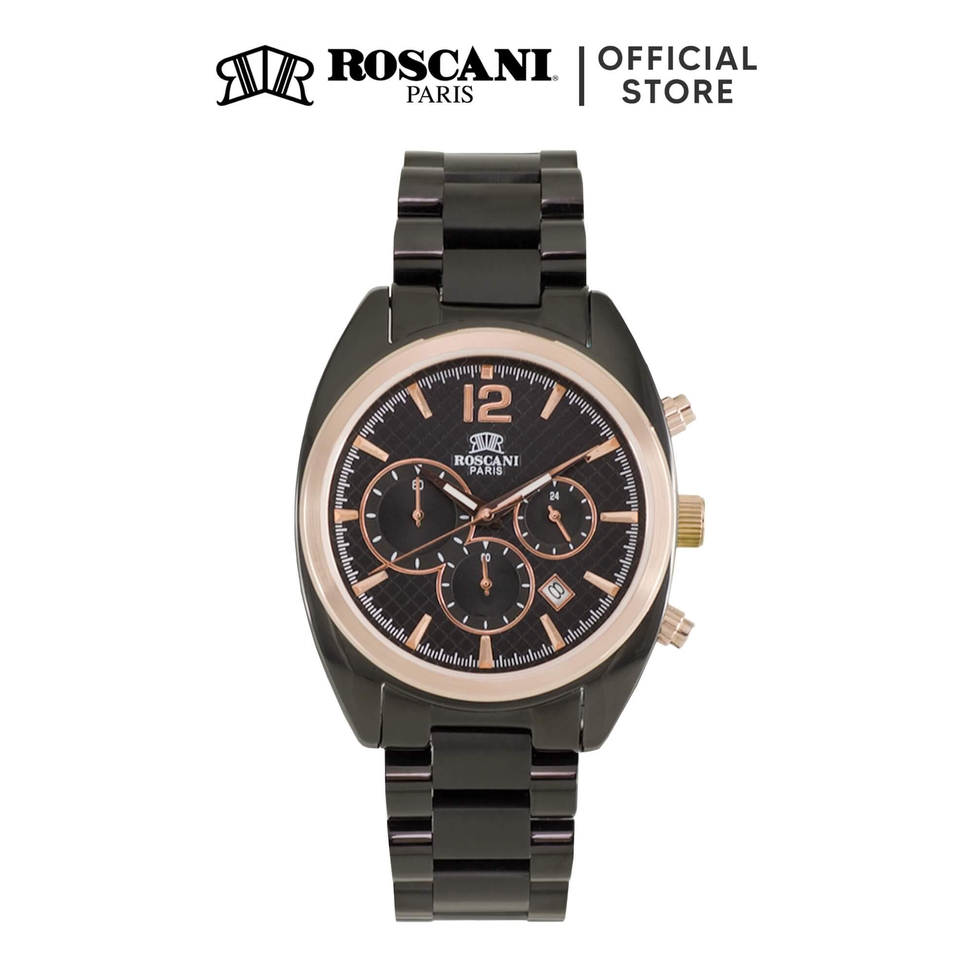 Roscani Gregory 973 (Chronograph + WR 5ATM) Bracelet Men Watch
