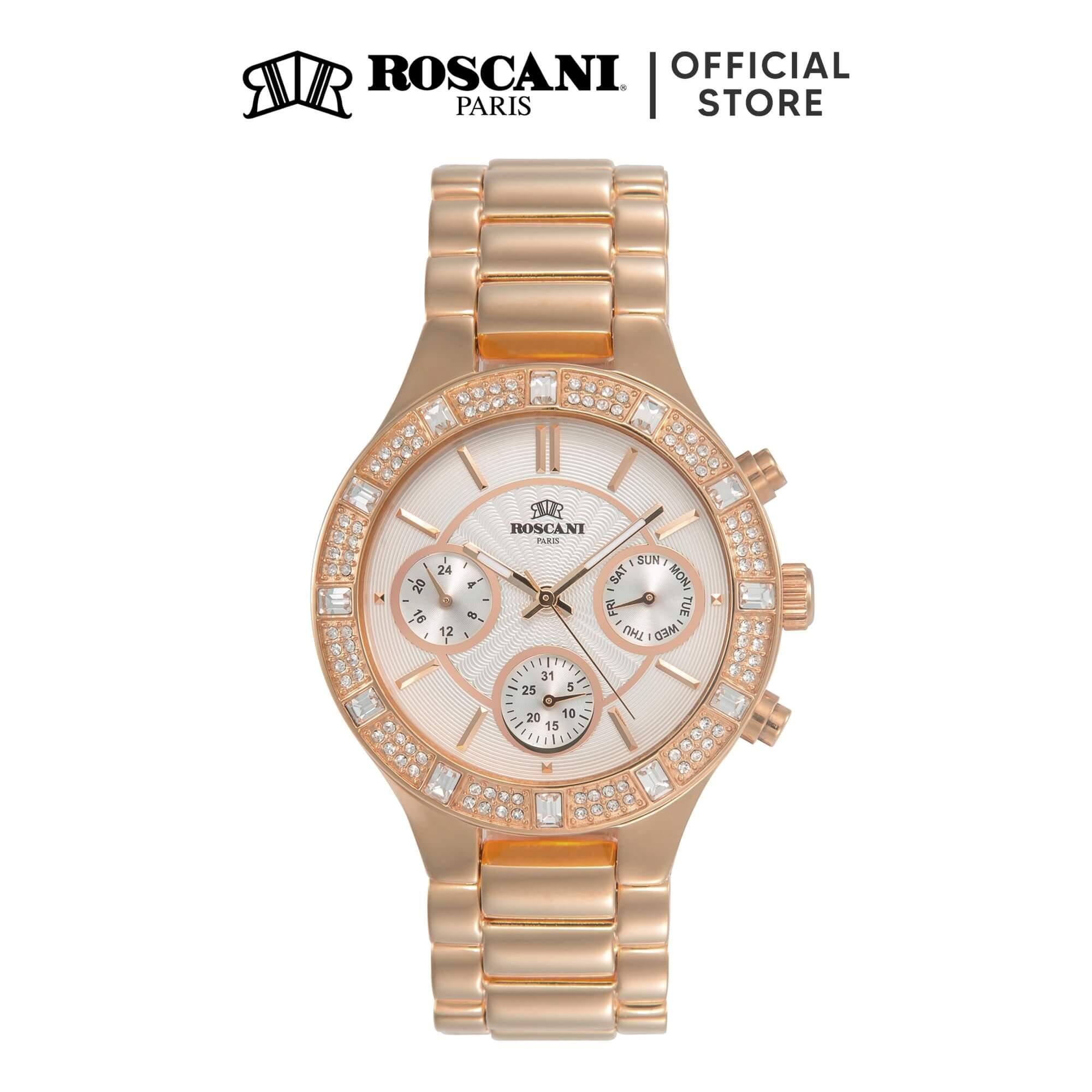 Roscani Fiona 976 (Multifunction + WR 5ATM) Bracelet Women Watch