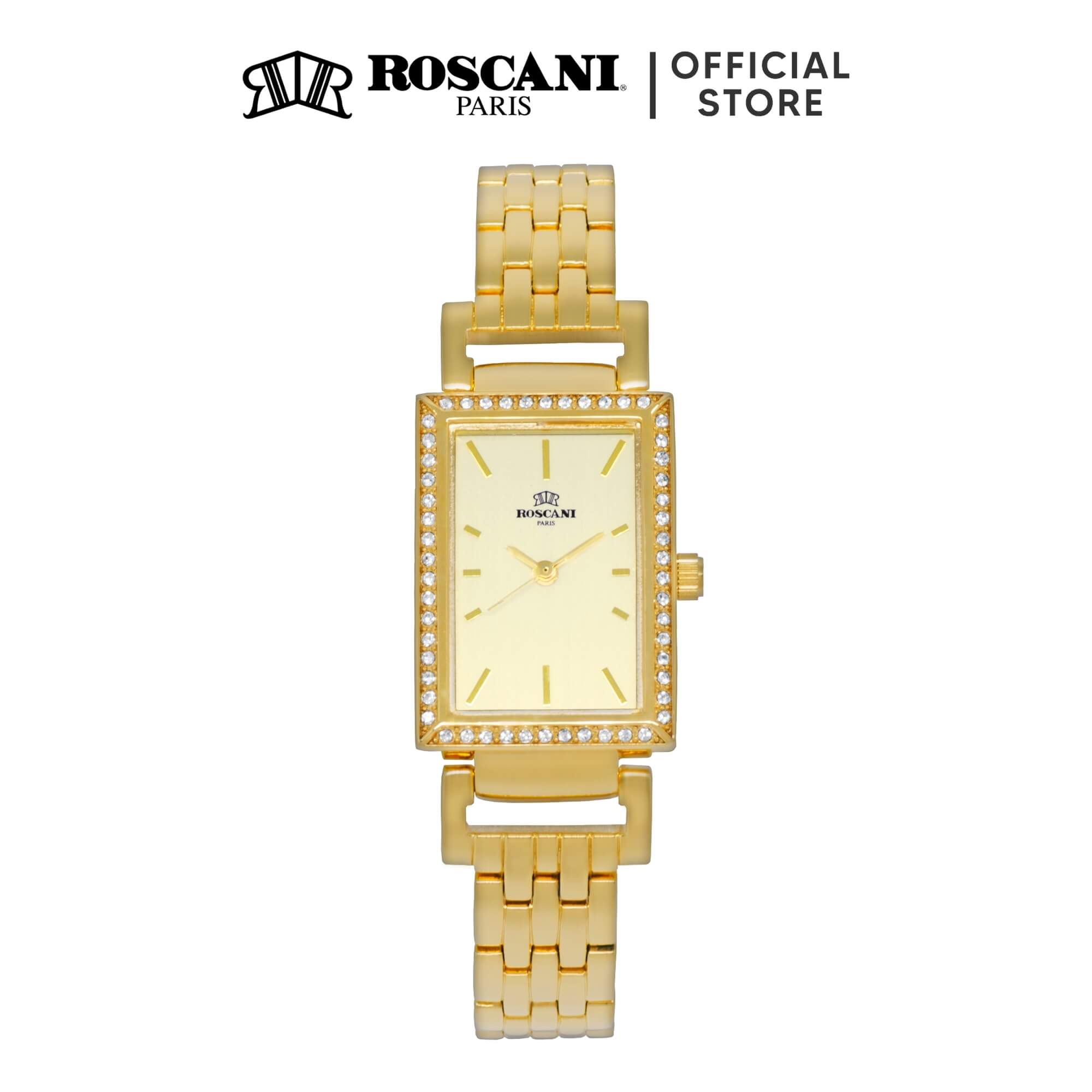 Roscani Francesca B59 (Aluminium Brushed Dial) Bracelet Women Watch