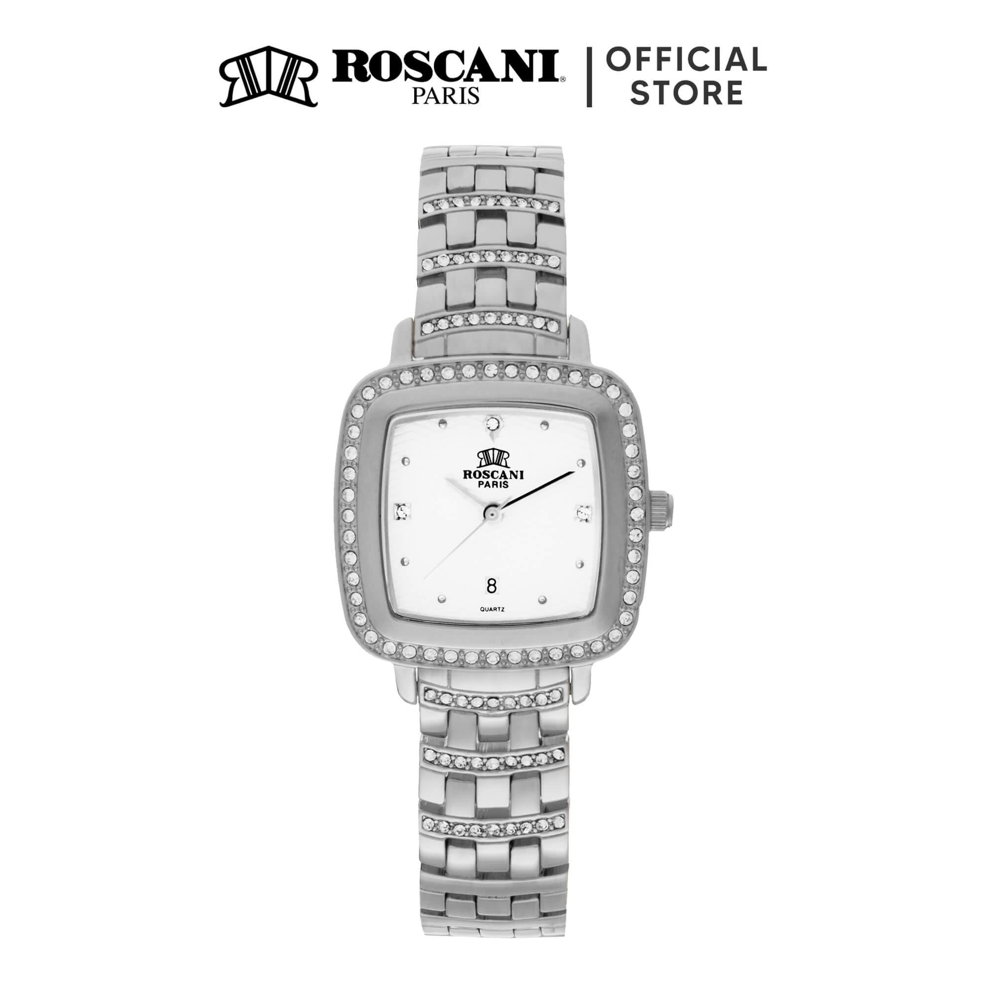 Roscani Laura B62 (Triangle Wave Dial) Bracelet Women Watch