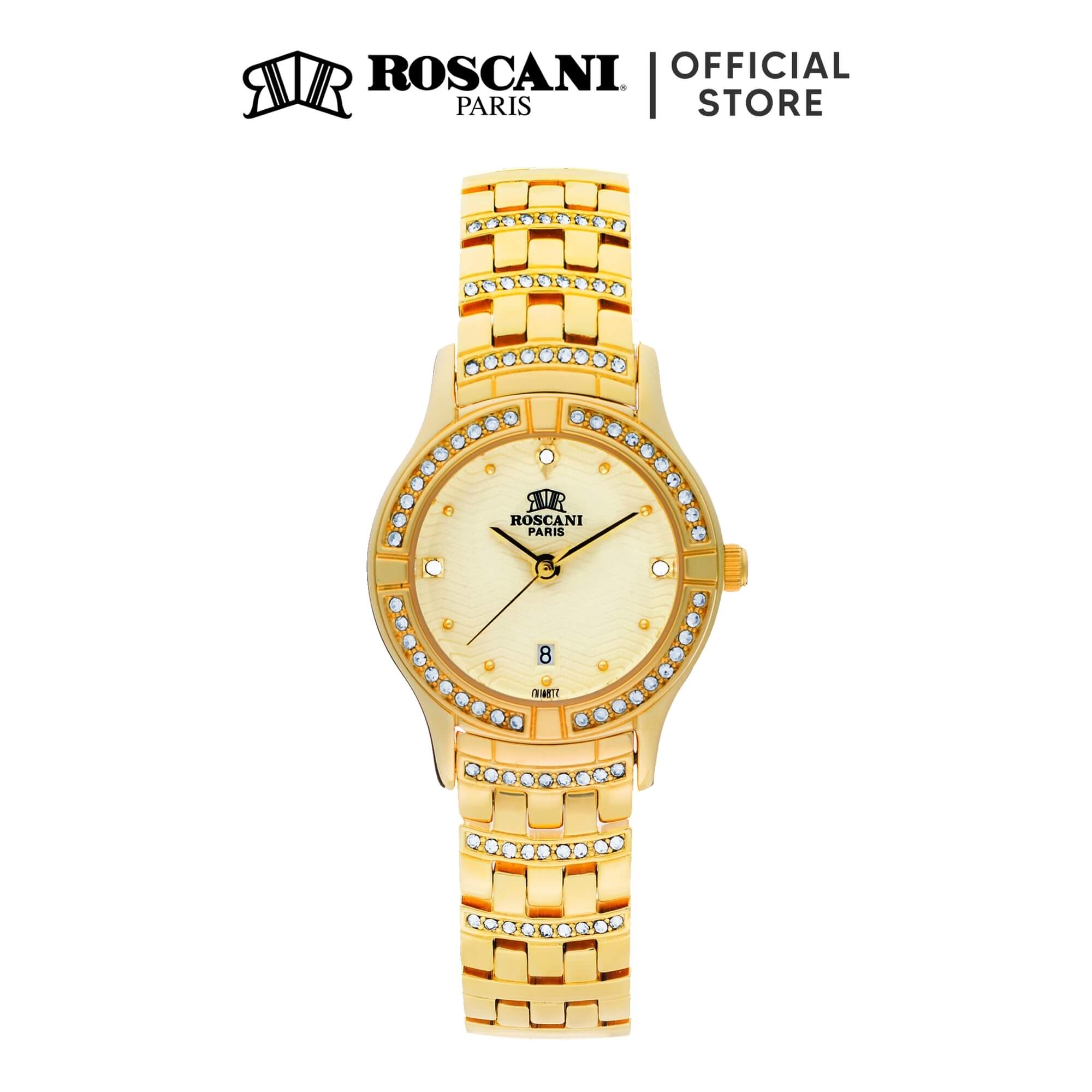 Roscani Emilia B63 (Triangle Wave Dial) Bracelet Women Watch