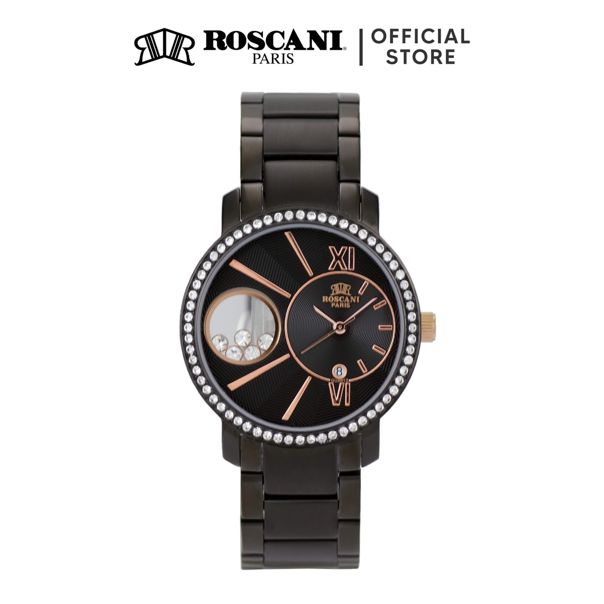 Roscani Sydney B68 (Gemstone Window) Bracelet Women Watch