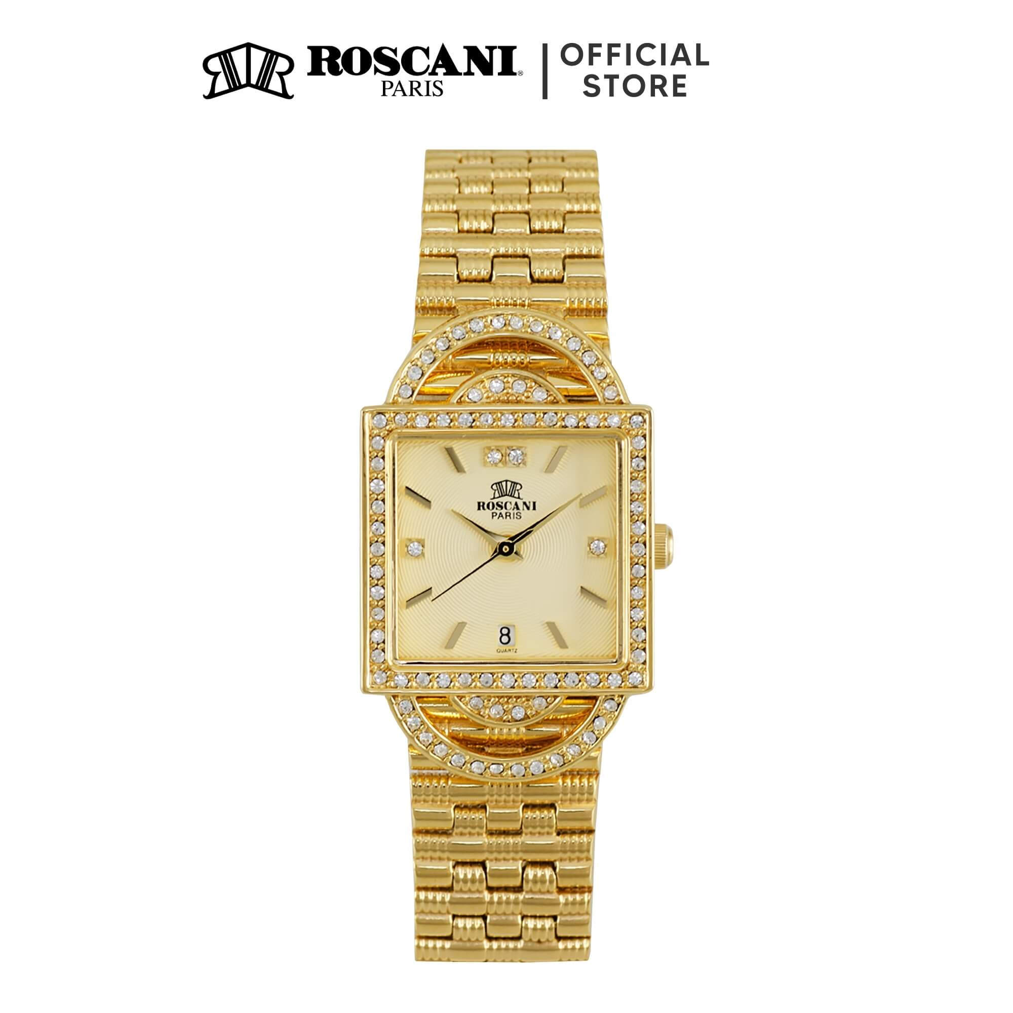 Roscani Elora B96 (23K Gold Plating) Bracelet Women Watch
