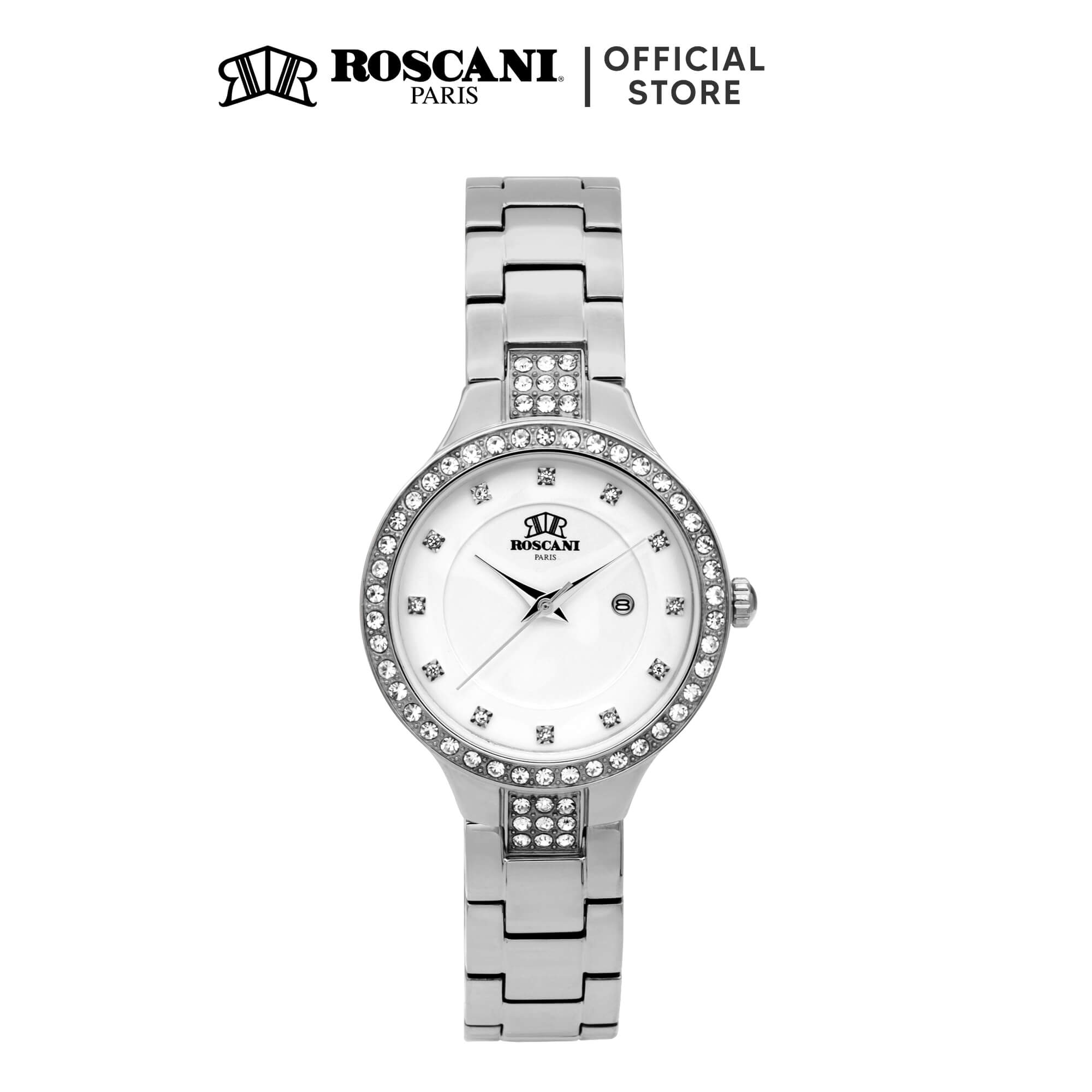 Roscani Hazel E07 (Gemstone Bezel) Bracelet Women Watch