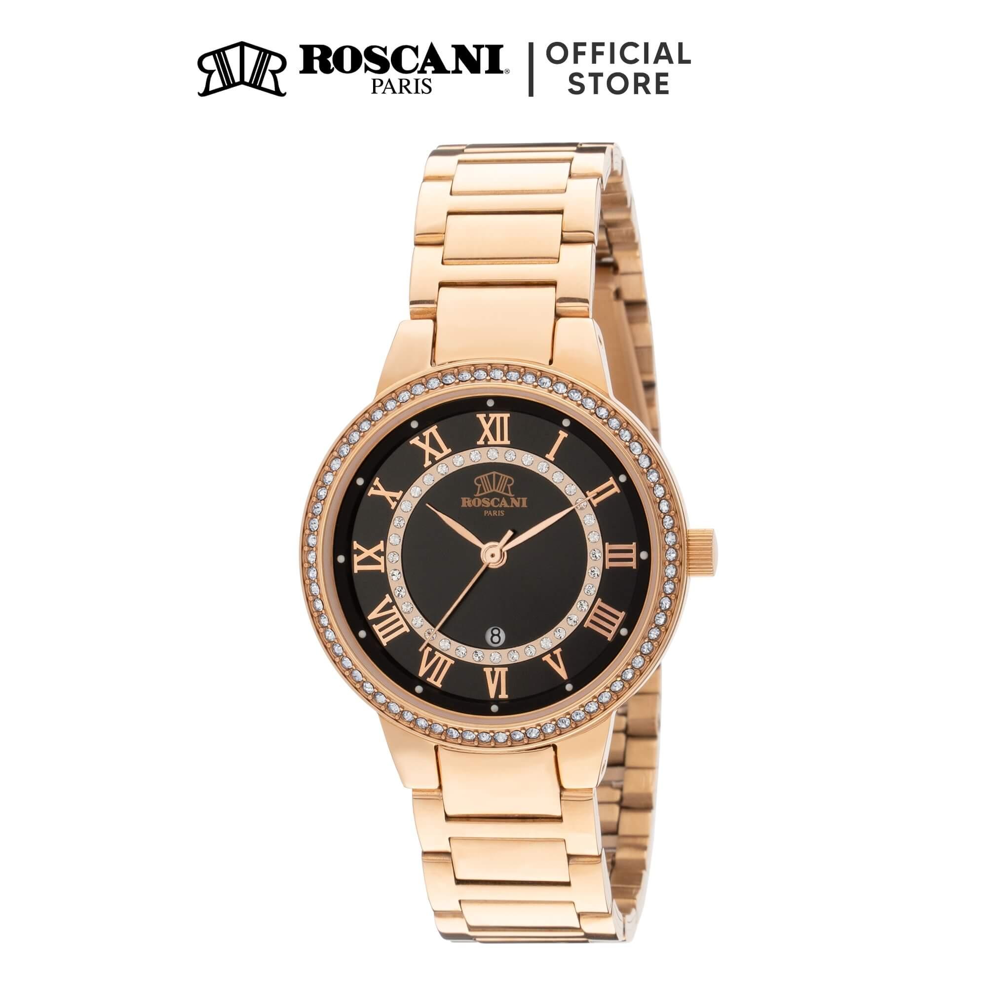 Roscani Gwen E25 (Sunray Dial + WR 5ATM) Bracelet Women Watch